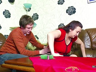 German StepMom Seduce to Fuck by stepson..