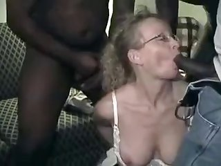 wife Cathy vs four black boys. Guess who..