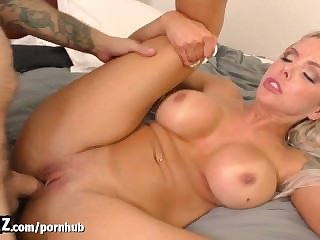 WANKZ - Hot Blonde Loves Her Stepson's..